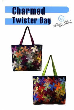 Charmed Twister Tote by Wagon Wheel Creations