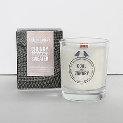 Chunky Knit Sweater Candle by Coal and Canary
