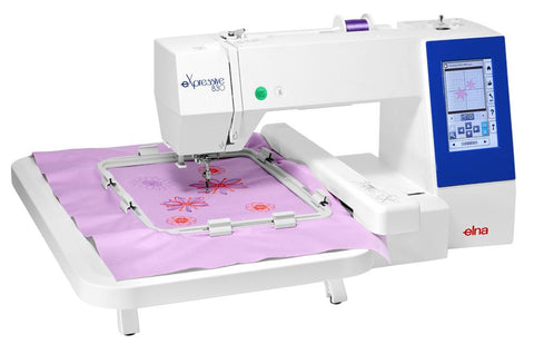 Elna Expressive 830 Stand Alone Embroidery Machine