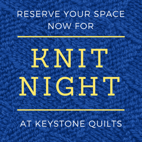 Knit Night March 05 - Knitting Group for Beginners to Experts to Have Fun and Knit Together