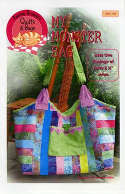 My Monster Bag Pattern by Among Brenda's Quilts & Bags