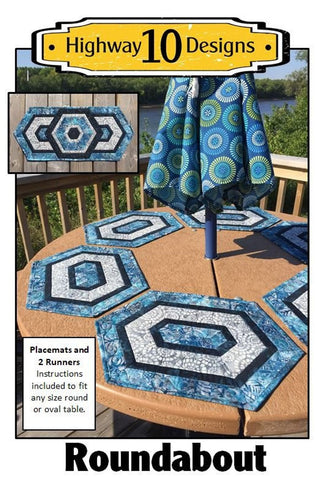 Roundabout by Highway 10 Designs Table Runners and Placemats - Saturday, March 16