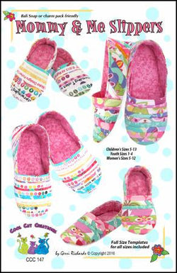 Mommy and Me Slippers by Gerri Richards for Cool Cat Creations