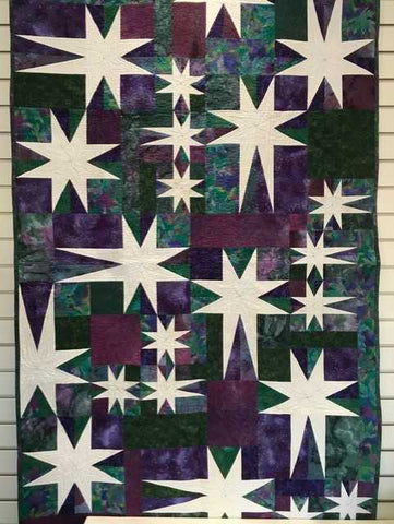 Starry Paths - An Original Design with Inez Drummond - Saturday, February 09 and Saturday, February 16