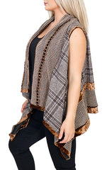 Impulse California Women's Cardigan Vest