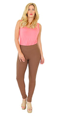 TrueSlim™ Brown Leggings for Women