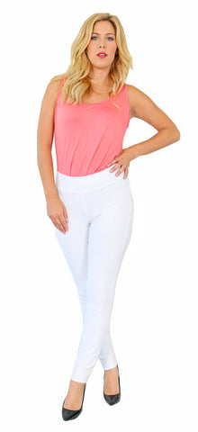 TrueSlim™ White Leggings For women
