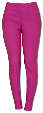 TrueSlim Fuchsia Travel Pant Leggings