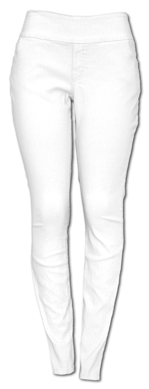 TrueSlim White Travel Pant Leggings