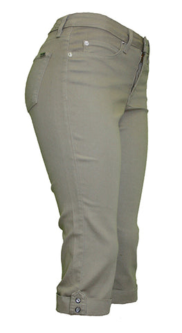 TrueSlim™ Capri with Stone Trim Tan