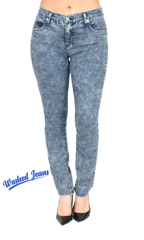 TrueSlim™ Blueberry Wash Jeggings for Women