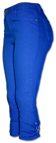 TrueSlim Royal Capri with Rhinestone Detail