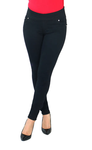 TrueSlim™ Black Slimming Jeggings
