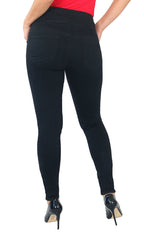 TrueSlim™ Black Pull On Jeggings