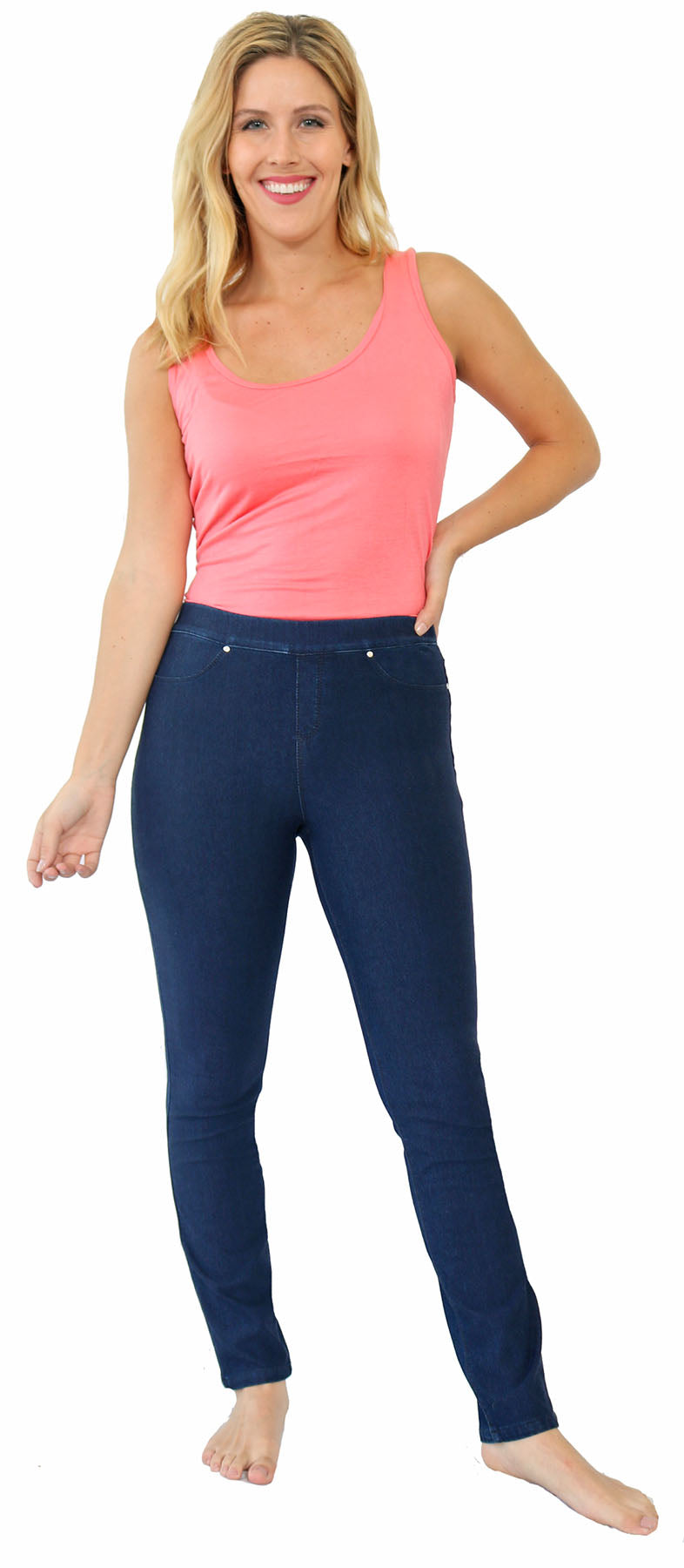 TrueSlim™ Slim Women's Leggings Indigo