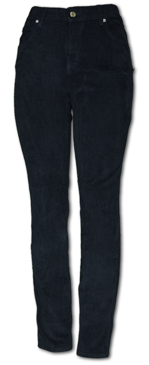 TrueSlim Jeans Corduroy Jeggings in Black