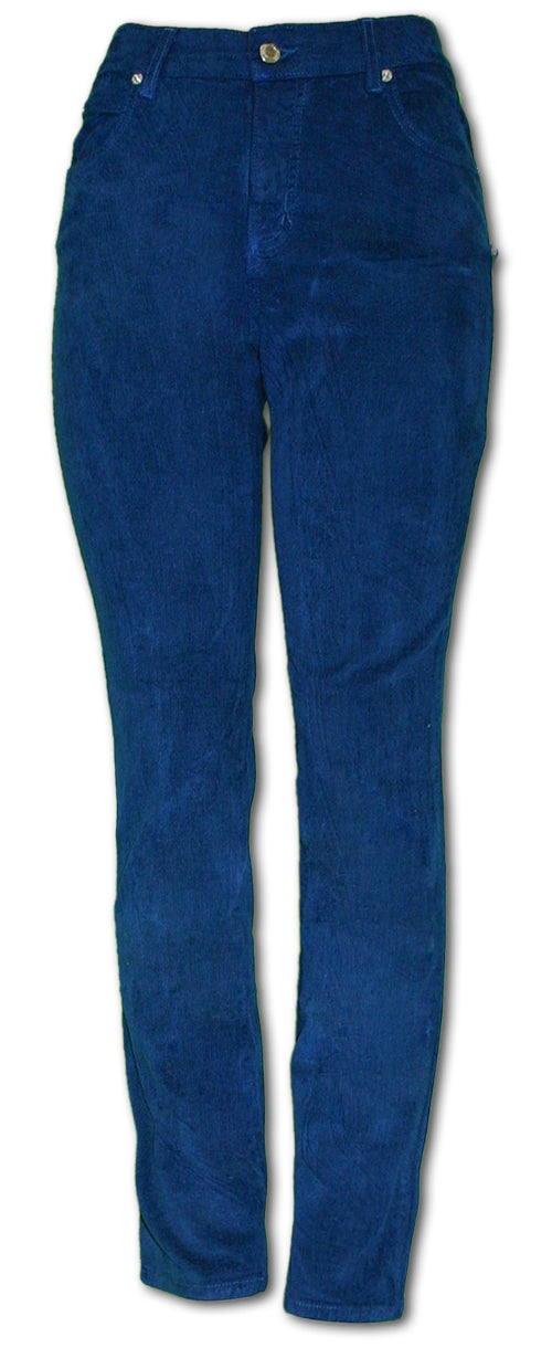 TrueSlim Teal Corduroy Jeggings