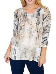 Women's Raglan Sleeve Tunic with Patch Pocket