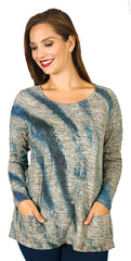 Impulse California Women's Patch Pocket Sweater