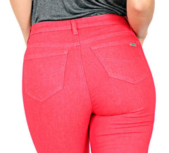 TrueSlim™ Capri with Stone Trim Red