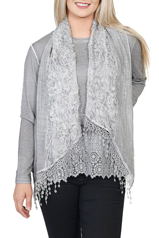 Impulse California Women's 2-piece Sweater and Scarf