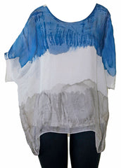 Impulse California Women's Batwing Chiffon Blouse