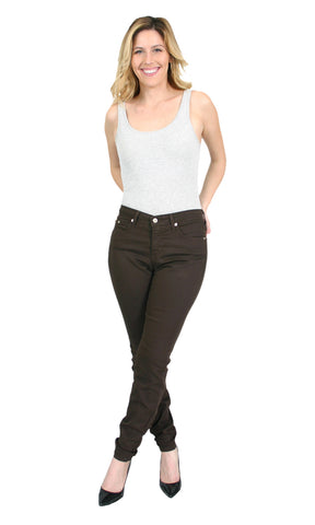 Trueslim Brown Jeggings