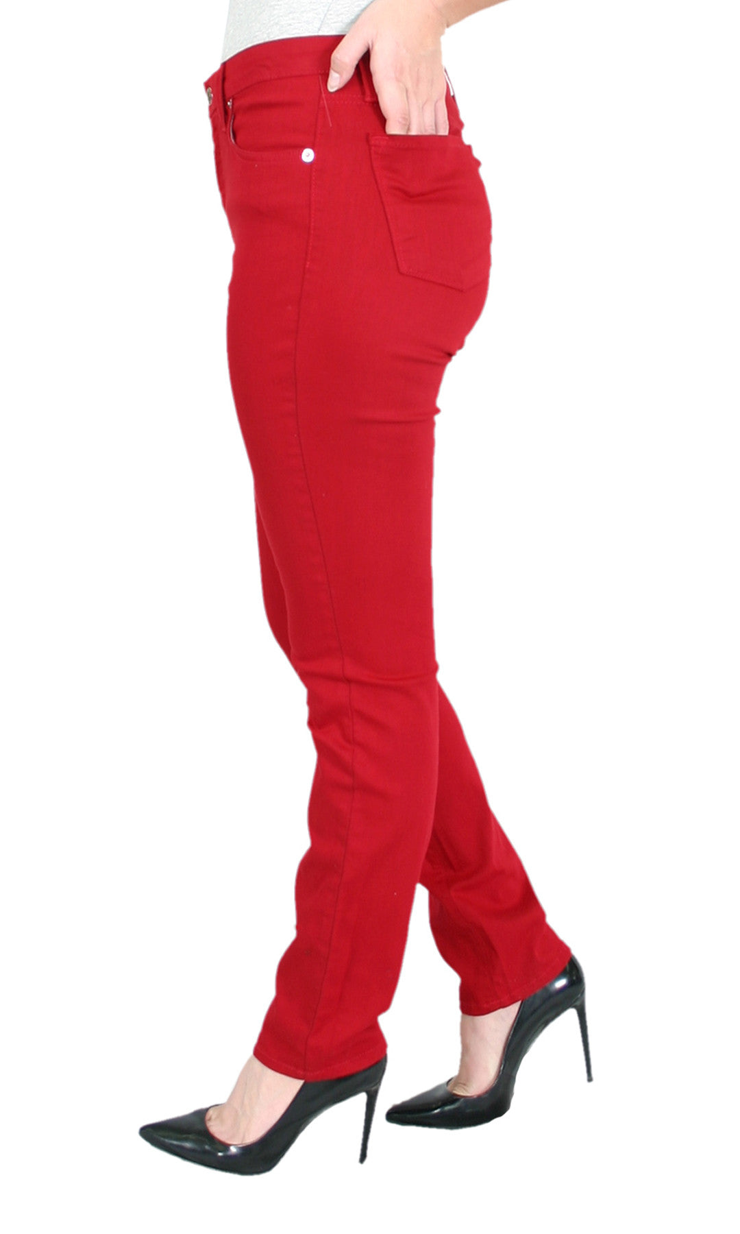 Trueslim Red Jeggings