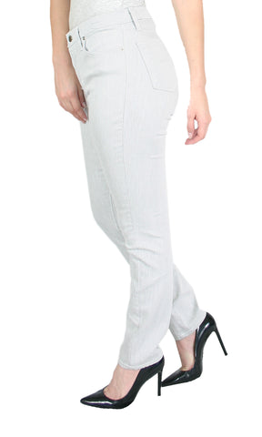 TrueSlim™ Gray Satin Twill Skinny Jeggings for Women