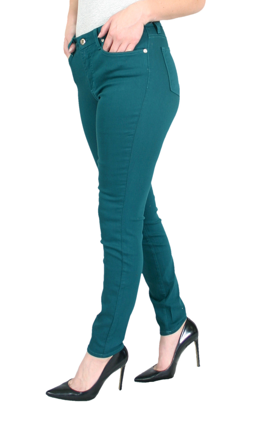 Trueslim Jeans Teal Jeggings
