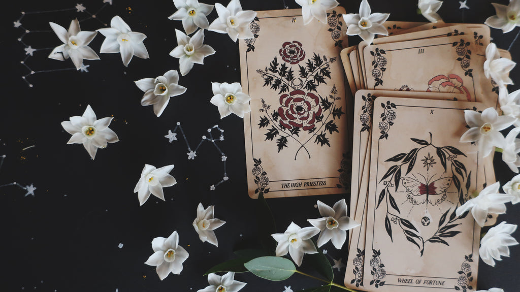 Bonearrow and Tarotbella New Year New Moon Tarotscopes