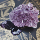 Amethyst Crystal meaning for earth signs