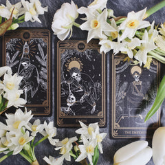 Death tarot card meaning and alternative jewellery