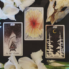 The wild unknown tarot new moon in Leo water signs