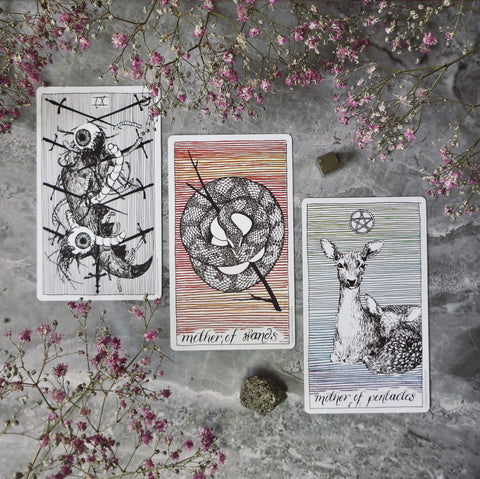 The Wild Unknown Tarot scopes