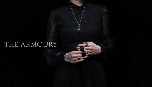 gothic witchy jewellery by Bonearrow UK