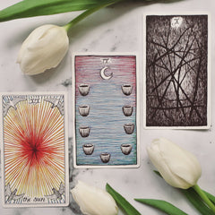 March New Moon in Pisces Tarotscopes Water signs The Wild Unknown Tarot