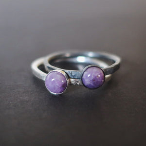 Satellite Ring in Sugilite