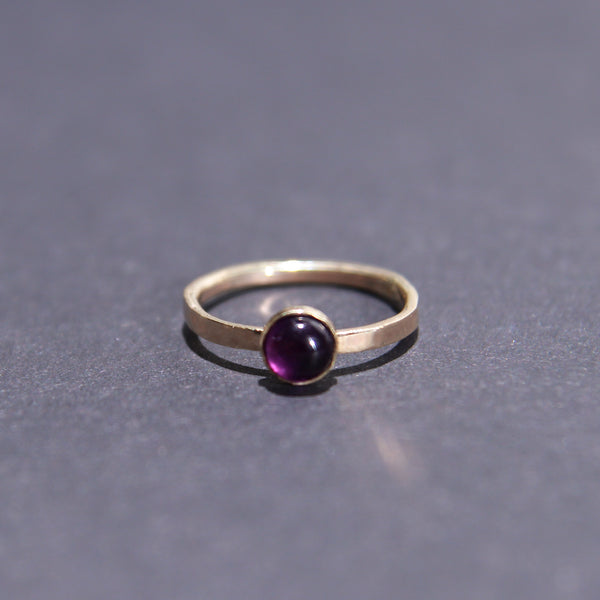 Satellite Ring in Amethyst