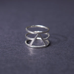 Silver alchemy ring uk