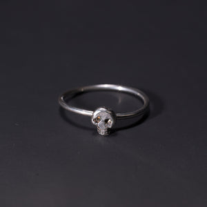Little Skull Stacking Ring