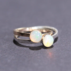 Satellite Ring in Opal