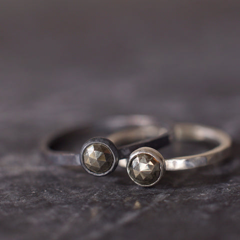 Satellite Ring in Pyrite