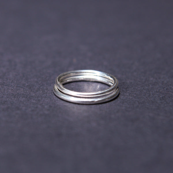 Simple round stacking rings