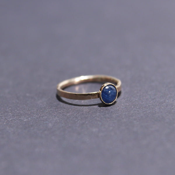 Satellite Ring in Sapphire