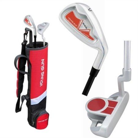Young Gun BIRDIE RED Junior golf club Youth Set & bag for kids Ages 9-11 RH