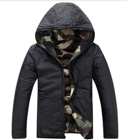 Camouflaged Double Sided Jacket