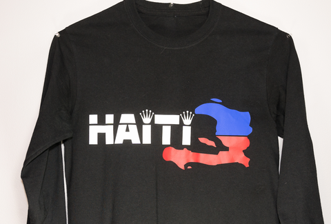 REPUBLIQUE D'HAITI SWEATSHIRT BLACK