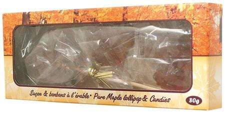 Maple Lollipop Candy Box