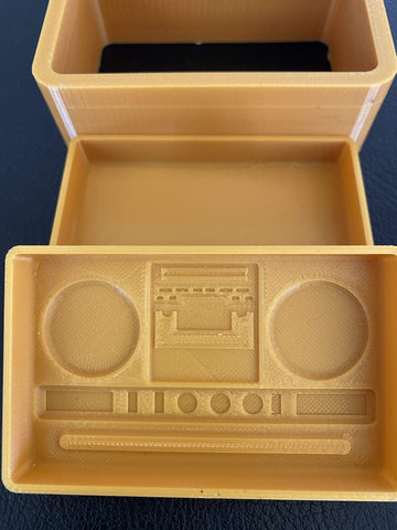 Boom Box 3 D Printed Mold